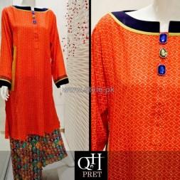 QnH Winter Long Shirt Designs 2013 For Women 6