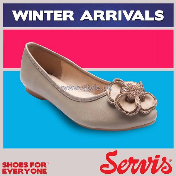 Servis Latest Foot Wear Designs 2013 For Winter 6