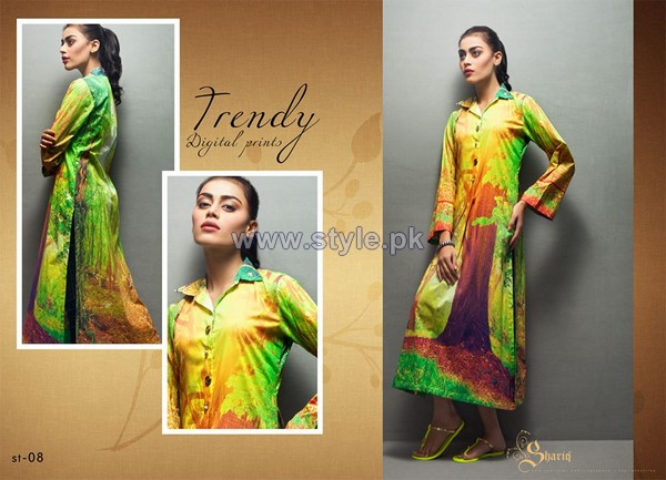 Shariq Textiles Digital Print Shirts 2013 Volume 2 For Girls 1