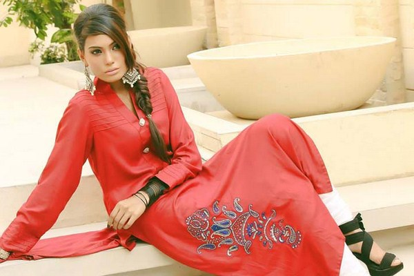 Adil Iqbal Winter Dresses 2013-2014 For Women 012