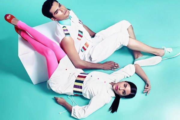 Deepak And Fahad Winter Dresses 2014 For Men And Women 007
