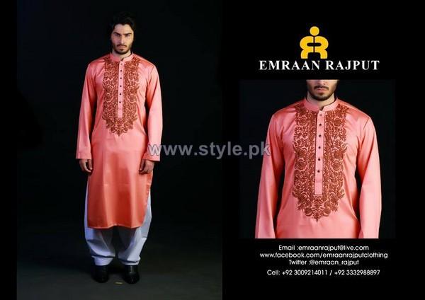 Emraan Rajput Formal Wear Kurtas 2014 For Men 7