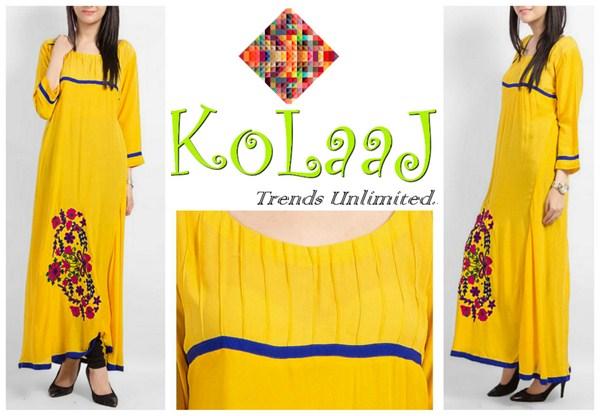 Kolaaj Winter Dresses 2013-2014 For Women 002