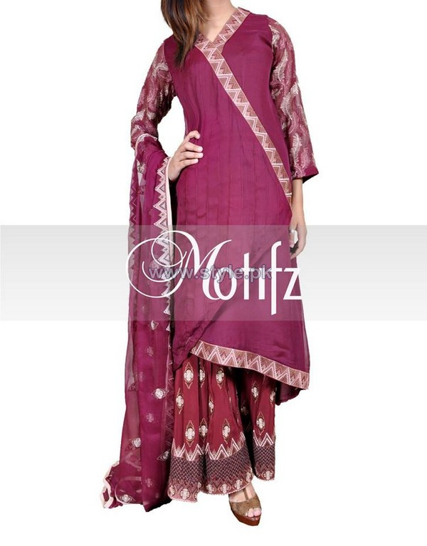 Motifz Winter Dresses 2014 For Girls and Women 5
