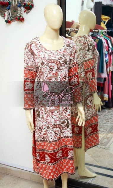 Nadia's Collection Winter Dresses 2014 For Women 004