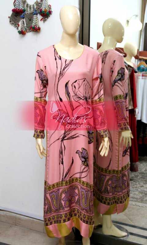 Nadia's Collection Winter Dresses 2014 For Women 006