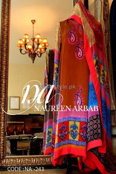 Naureen Arbab Party Wear Dresses 2014 For Winter 1