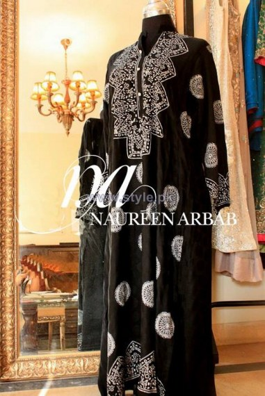 Naureen Arbab Party Wear Dresses 2014 For Winter 2