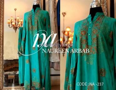 Naureen Arbab Party Wear Dresses 2014 For Women 8