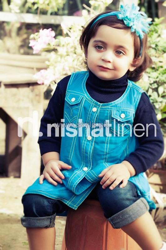 Nishat Linen Kids Dresses 2013-2014 For Nisha Princess 7