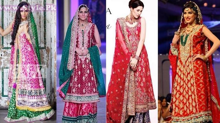 Pakistani Wedding Dresses 2014 for Women