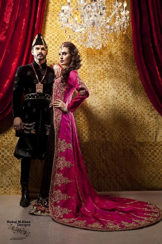 Wahaj M. Khan Bridal Dresses 2014 For Women 05