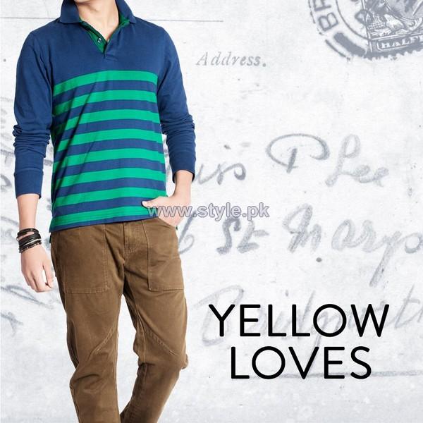 Yellow Winter Dresses 2014 For Men 6