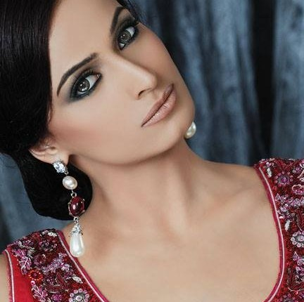 Ahsan Hussain Party Wear Dresses 2014 Featuring Noor