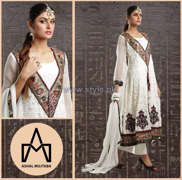 Ashal Mujtaba Spring Dresses 2014 For Girls 4
