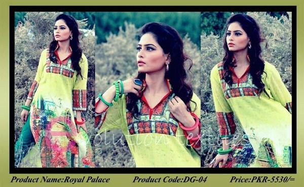 Evolution Textile Winter Dresses 2014 For Women 001