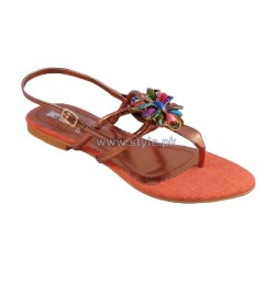 Gul Ahmed Casual Wear Slippers 2014 For Girls 2