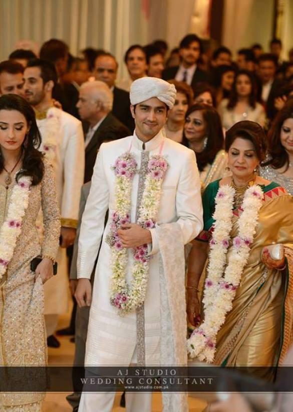 Javed Shaikh Son Shehzad Sheikh Wedding Pic 10
