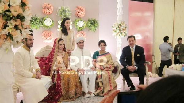 Javed Shaikh Son Shehzad Sheikh Wedding Pic 11
