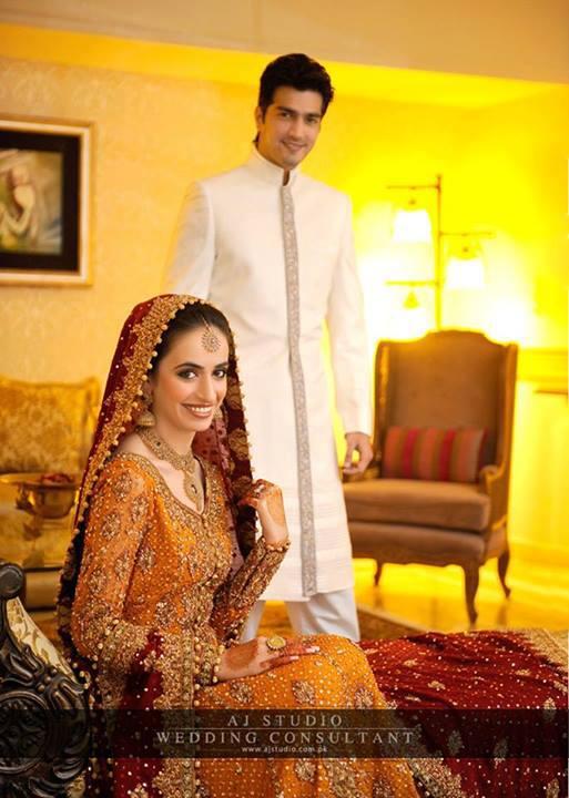 Javed Shaikh Son Shehzad Sheikh Wedding Pic 13