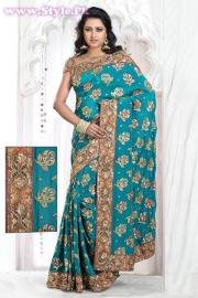 Latest Designs of Sarees 2014 for Women003