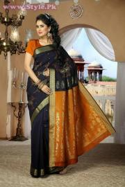 Latest Designs of Sarees 2014 for Women004