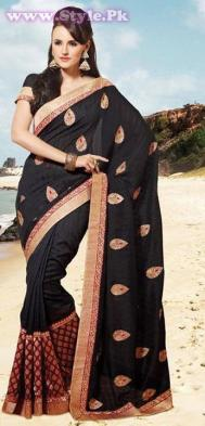 Latest Designs of Sarees 2014 for Women014