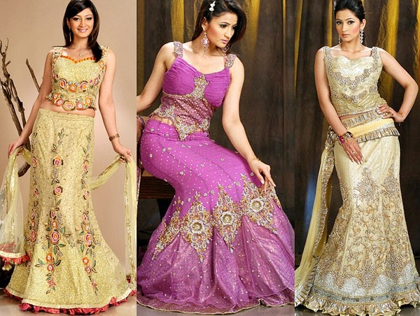 Lehenga Choli Dresses 2014 For Women