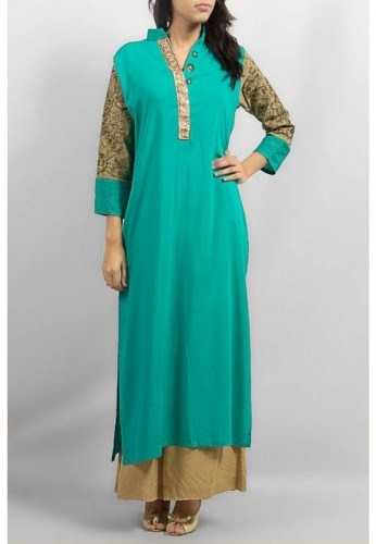Long Shirts With Palazzo Pants 2014 For Women 007