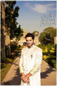 Maria B Wedding Wear Dresses 2014 For Men and Women 6