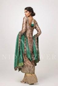 Nida Azwer Formal Wear Dresses 2014 for Women004