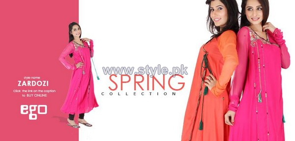 Ego Spring Dresses 2014 For Girls 2