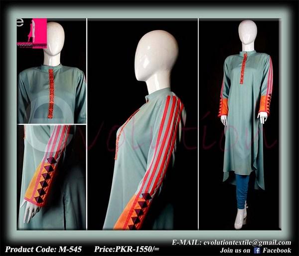 Evolution Textiles Lawn Dresses 2014 For Women 007