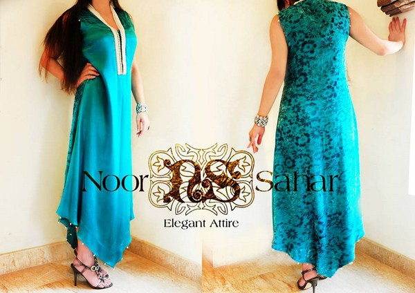 Noor Sahar Party Dresses 2014 For Women 005