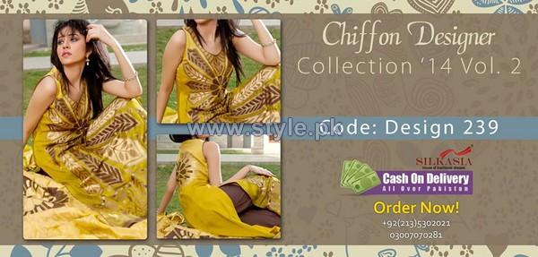 Silkasia Chiffon Collection 2014 For Girls 2