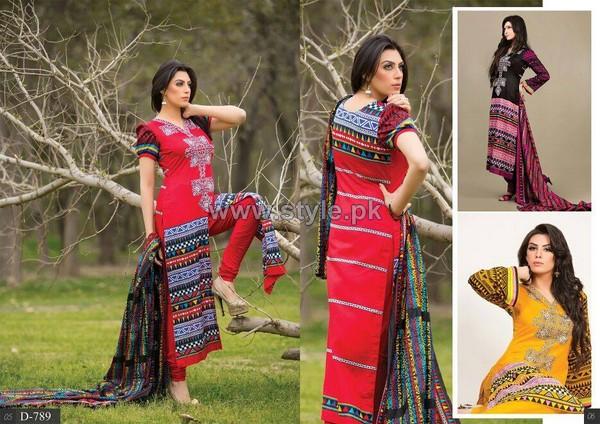 Barkha Lawn Prints 2014 For Women 3