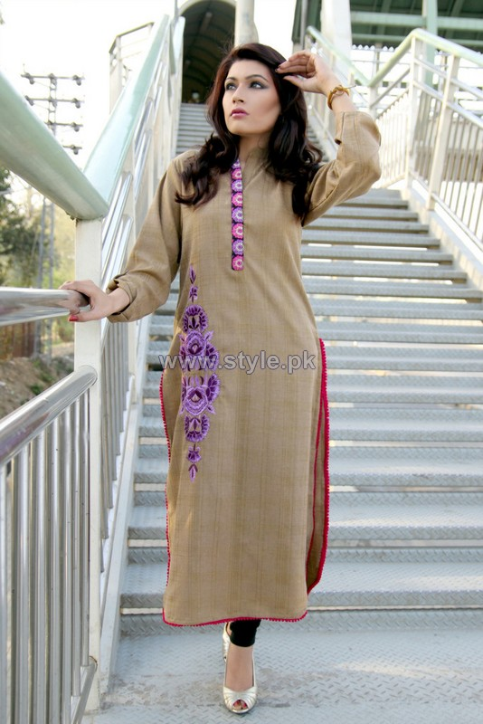 Damak Spring Dresses 2014 For Girls 1