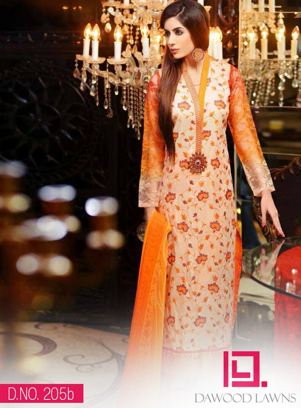 Dawood Textiles Liali Embroidered Collection 2014 For Women 003