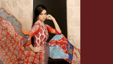 Lala Embroidered Lawn 2014 for Women