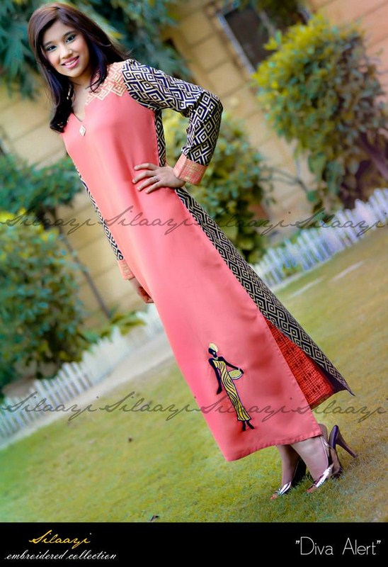 Silaayi Spring Dresses 2014 For Women 008