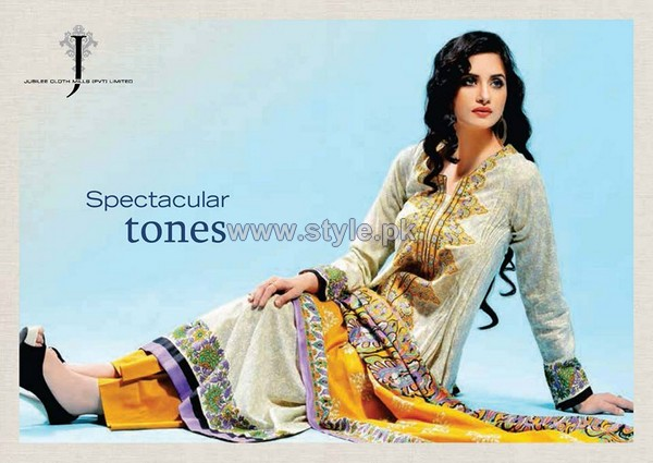 The VIP Lawn By Jubilee Cloth Mills 2014 For Women 11