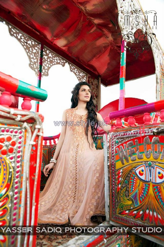Umsha by Uzma Babar Formal Dresses 2014 For Summer 2