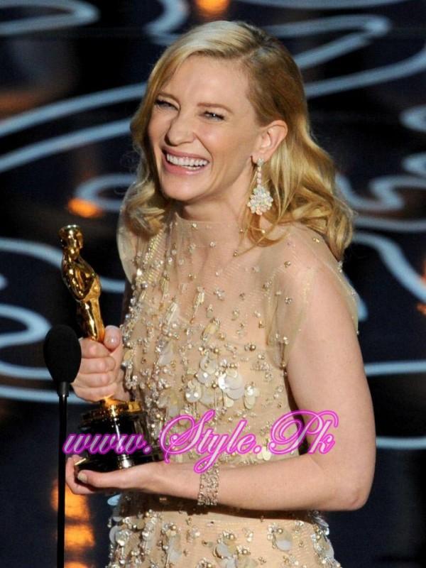 Winner Of Best Actress Oscar Award Cate Blanchett