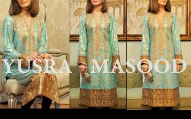 Yusra Masood Spring Dresses 2014 For Women 006
