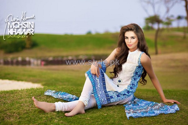 Zainab Salman Lawn Dresses 2014 For Women 5