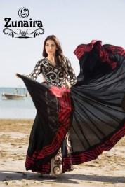 Zunaira Lounge Summer Dresses 2014 For Women 001