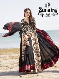 Zunaira Lounge Summer Dresses 2014 For Women 002