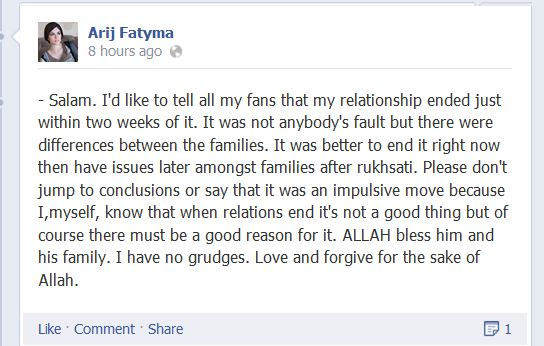 Arij Fatyma Got Divorced Pic 04