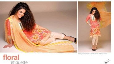 Kuki Concepts Lawn 2014 for Women