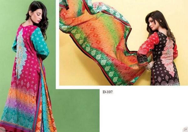 Moon Textile Sohni Lawn Dresses 2014 For Women 002